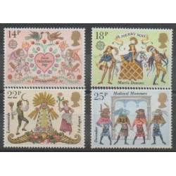 Great Britain - 1981 - Nb 972/975