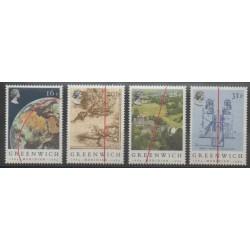 Grande-Bretagne - 1984 - No 1131/1134 - Sciences et Techniques