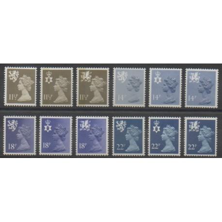 Grande-Bretagne - 1981 - No 980/991