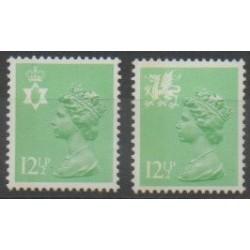 Grande-Bretagne - 1982 - No 1028a/1029a