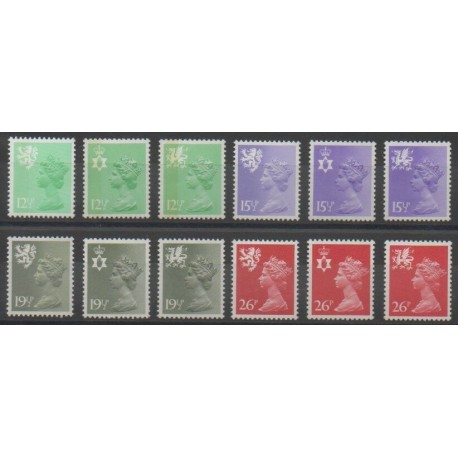Grande-Bretagne - 1982 - No 1027/1038