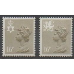 Grande-Bretagne - 1983 - No 1083a/1084a