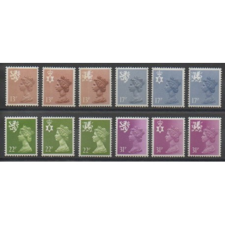 Grande-Bretagne - 1984 - No 1151/1162