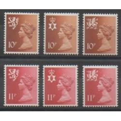 Grande-Bretagne - 1976 - No 807/812