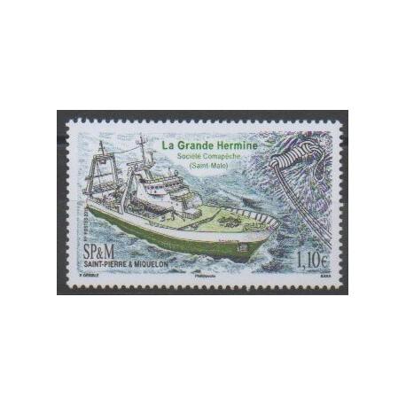 Saint-Pierre et Miquelon - 2016 - No 1150 - Navigation