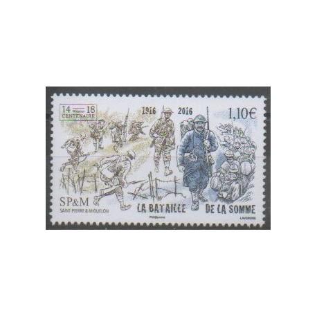 Saint-Pierre et Miquelon - 2016 - No 1172 - Histoire