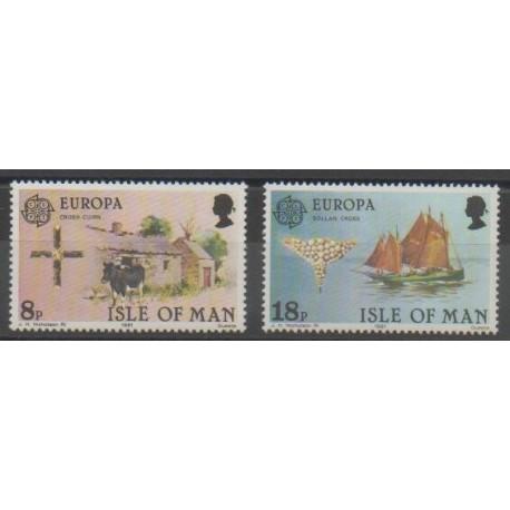 Man (Ile de) - 1981 - No 182/183 - Europa