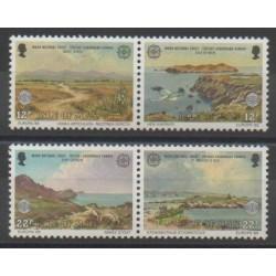 Man (Ile de) - 1986 - No 302/305 - Environnement - Europa