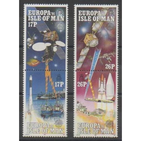 Man (Ile de) - 1991 - No 498/501 - Espace - Europa