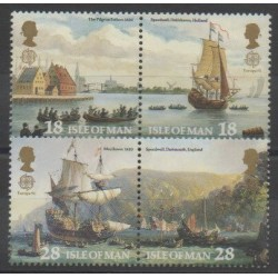 Man (Ile de) - 1992 - No 537/540 - Christophe Colomb - Europa