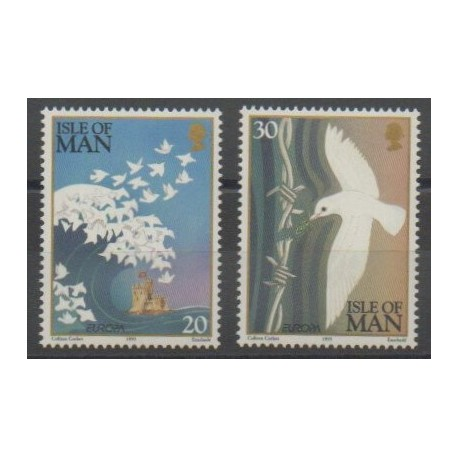 Man (Ile de) - 1995 - No 665/666 - Europa