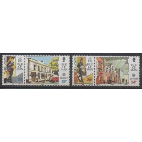Man (Ile de) - 1990 - No 432/435 - Europa