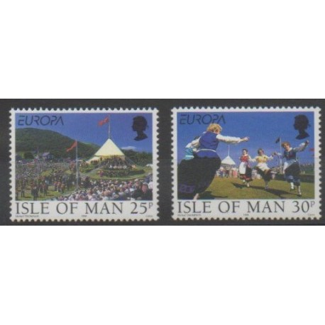 Man (Ile de) - 1998 - No 823/824 - Europa