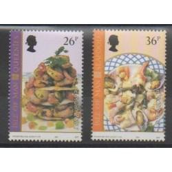 Man (Ile de) - 2001 - No 971/972 - Gastronomie - Europa