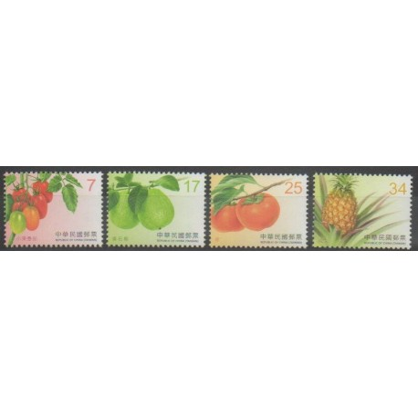 Formose (Taïwan) - 2016 - No 3789/3792 - Fruits