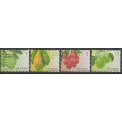 Formose (Taïwan) - 2016 - No 3753/3756 - Fruits