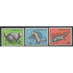 Jamaïque - 1973 - No 374/376 - Mammifères