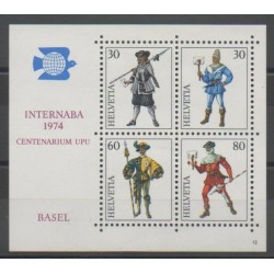 Swiss - 1974 - Nb BF22 - Military history