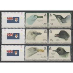Grande-Bretagne - Territoire antarctique - 2010 - No 502/507 - Oiseaux