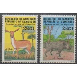Cameroon - 1984 - Nb 740/741 - Mamals