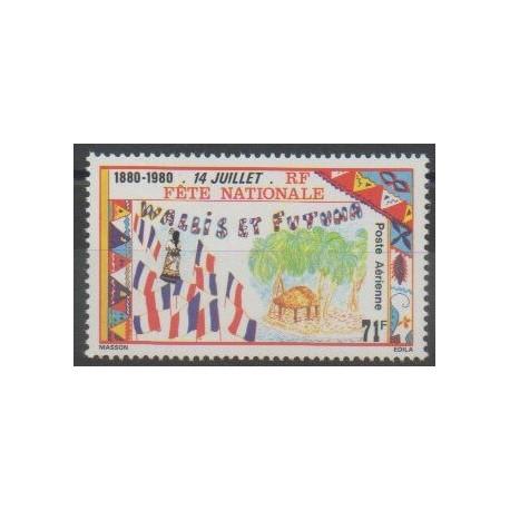 Wallis et Futuna - Poste aérienne - 1980 - No PA103 - Histoire