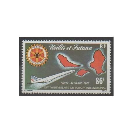Wallis et Futuna - Poste aérienne - 1980 - No PA101 - Rotary - Aviation