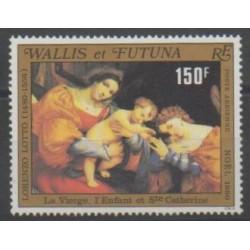 Wallis et Futuna - Poste aérienne - 1980 - No PA107 - Noël