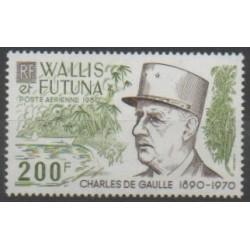 Wallis et Futuna - Poste aérienne - 1980 - No PA106 - De Gaulle