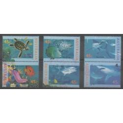 Australie - 1995 - No 1466/1471 - Animaux marins