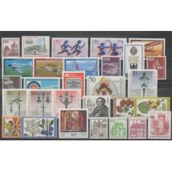 West Germany (FRG - Berlin) - 1979 - Nb 548/576