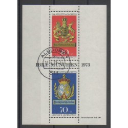 West Germany (FRG) - 1973 - Nb BF8 - Coats of arms - Used