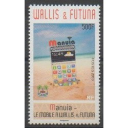 Wallis and Futuna - 2016 - Nb 849 - Telecommunications