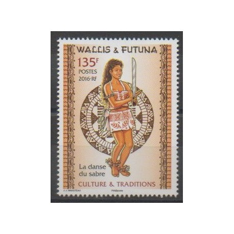 Wallis et Futuna - 2016 - No 852 - Costumes