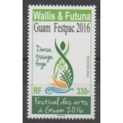 Wallis et Futuna - 2016 - No 853 - Art