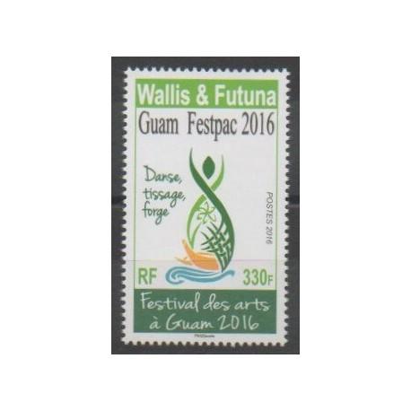 Wallis et Futuna - 2016 - No 853 - Art