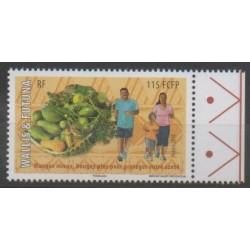 Wallis et Futuna - 2016 - No 854 - Fruits - Santé ou Croix-Rouge
