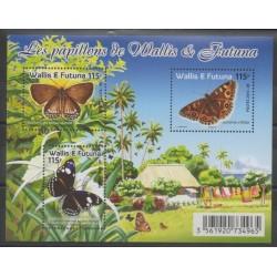 Wallis et Futuna - Blocs et feuillets - 2016 - No F856 - Insectes