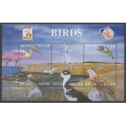 Nevis - 2002 - No 1608/1613 - Oiseaux