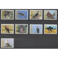 Burundi - 2009 - No 1120/1128 - Oiseaux