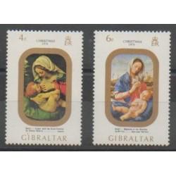 Gibraltar - 1974 - No 312/313 - Noël