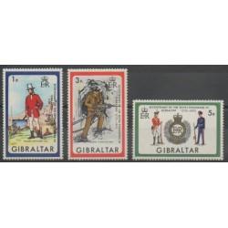 Gibraltar - 1972 - No 281/283 - Sciences et Techniques