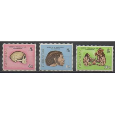 Gibraltar - 1973 - No 294/296 - Sciences et Techniques