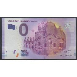 Billet souvenir - Casa Batllo Gaudi - 2017