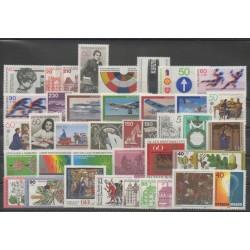 Allemagne occidentale (RFA) - Année complète - 1979 - No 841/880