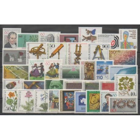 Allemagne occidentale (RFA) - Année complète - 1981 - No 914/949