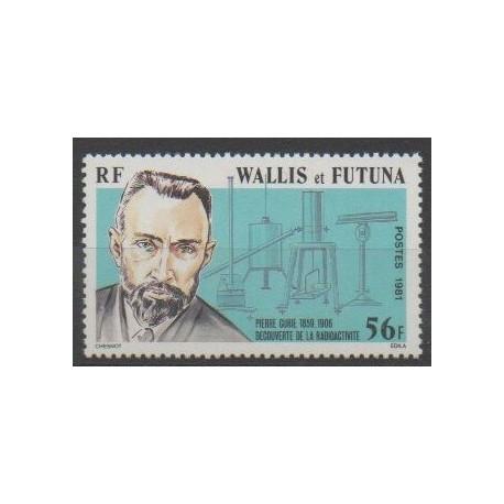 Wallis et Futuna - 1981 - No 266 - Sciences et Techniques