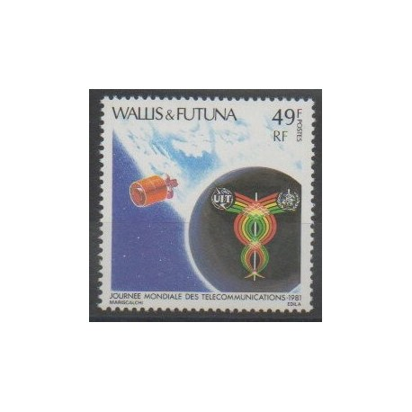 Wallis et Futuna - 1981 - No 265 - Télécommunications