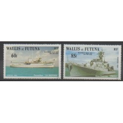 Wallis et Futuna - 1981 - No 279/280 - Navigation