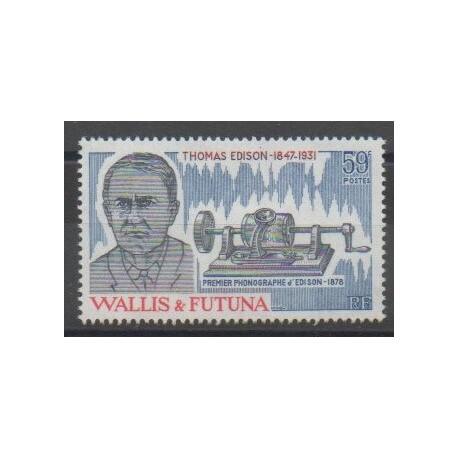 Wallis et Futuna - 1981 - No 275 - Sciences et Techniques