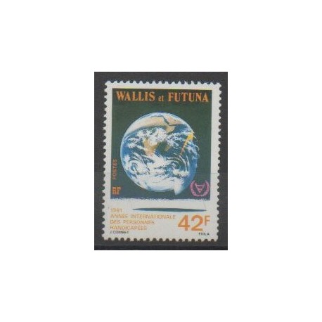 Wallis et Futuna - 1981 - No 274 - Santé ou Croix-Rouge
